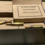 Lake City 5.56 / 223 Rem M856 Tracer Ammunition 64 Grain