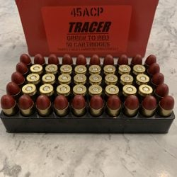 Happy Valley 45ACP Tracer – Green/Red
