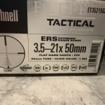 Bushnell Elite Tactical ERS 3.5-21x50mm in FDE