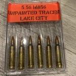 5.56 / 223 Rem M856 Tracer Ammunition 64 Grain