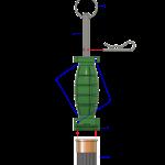 12 Gauge Perimeter Alarm with 209 Shotgun Primer Adapter