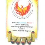 45ACP Incendiary/Tracer Ammunition