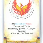 380 ACP Incendiary/ Tracer Ammunition