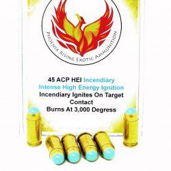 45 ACP HEI Incendiary Ammunition