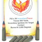 7.62 x 39 Phoenix Rising Incendiary/Tracer Ammunition