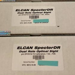 ELCAN SpecterDR Optical Sight 4x/1x – BRAND NEW with WARRANTY