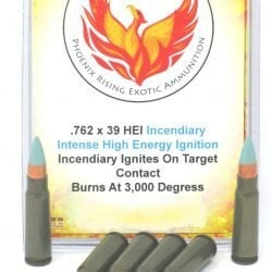 7.62×39 Phoenix Rising HEI High Energy Ignition Incendiary Ammo