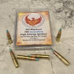 300 Blackout Phoenix Rising HEI High Energy Ignition Incendiary Ammo