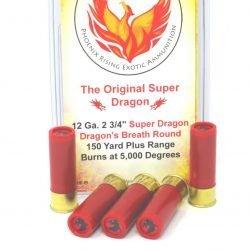 "Phoenix Rising 12 Gauge ""Super Dragon"" Dragon's Breath Ammunition"