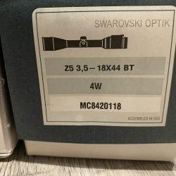 Swarovski Z5 3.5-18×44 4W – Brand new