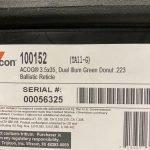 ACOG TA11 Green 223 3.5x on Larue Mount