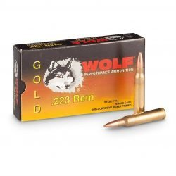 Wolf Gold .223/5.56X45 55GRN FMJ 20RD BOX
