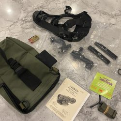 PVS-14 Night Vision Accessory Kit – J-Arm, Weapons Mount and Skullcrusher
