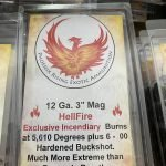 "12 Gauge ""Hellfire"" Dragon's Breath Ammunition with Buckshot – 3"""