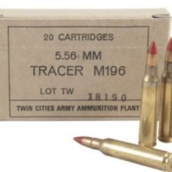 M196 Twin Cities 5.56 Tracer Ammo