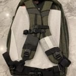 Vertx Gamut Checkpoint Bag with Premier IIIA Custom Fit Body Armor – Green / Black