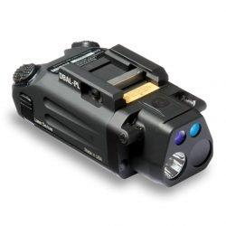 Steiner 9021 DBAL-PL Dual Beam Aiming Laser Green/IR Pistol Light