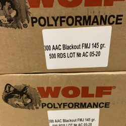 Wolf 300 Blackout 145 grain – 500 Rounds