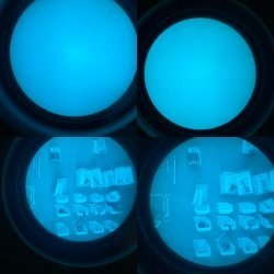 L3 Filmless White Phosphor Matched Set of Tubes – 10160 Style – 22UA