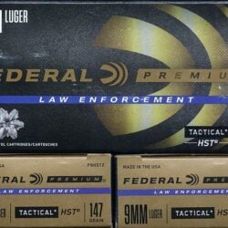 Federal HST 9mm LE Ammo – 147 gr P9HST2