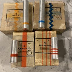 26.5mm Sealed 10 Pack – Red Rain, Red Flare, Orange Smoke and Blue Smoke