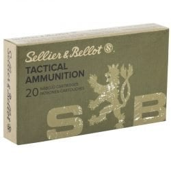 Sellier & Bellot S&B 300 Blackout 200 Grain Subsonic – 20 Round Boxes