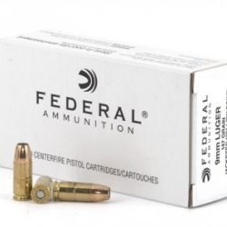 Federal Hi-Shok 147gr 9mm JHP – 50 around Box