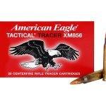 American Eagle XM856 64 grain Tracers – 20 Round Box