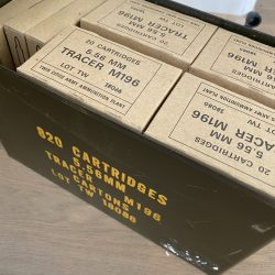 Twin Cities 5.56 / 223 Rem M196 Tracer Ammunition 55 Grain