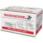 Winchester M193 5.56 55 Grain – 200 Round Bulk Packs