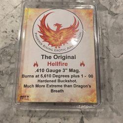 "410 ""Hellfire"" Dragon's Breath Ammunition with Buckshot – 3"""