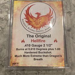 "410 ""Hellfire"" Dragon's Breath Ammunition with Buckshot – 2.5"""