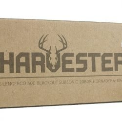 Silencerco Harvester 300 Blackout Subsonic 208gr Hornady A-MAX – 20 Round Box