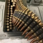 Lake City – 7.62×51 NATO M80 308 Ball – 200-Rounds Belted M27 Links in 30-Cal Ammo Can