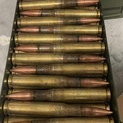 Federal Lake City 50 BMG M33 Ammo 660 Grain FMJ
