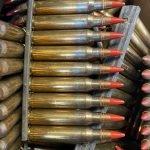 Surplus Radway Green NATO Proof M856 Tracer Ammo – 10 Round Stripper Clip
