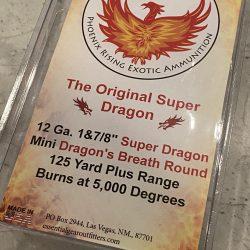 12 Gauge 1 1/2″ Mini Dragon's Breath  – 5 Pack