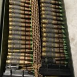 Lake City – 5.56 NATO M855 Green Tips – 800 Rounds Belted M13 Links in 50-Cal Ammo Can