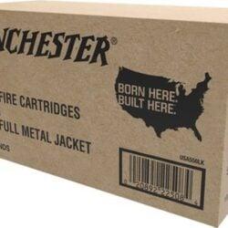 Winchester USA 5.56mm NATO Ammo 55 Grain FMJ Bulk 1000 Rounds