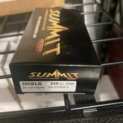 Summit 300 Blackout 220 Gr. Subsonic BTHP – 20 Round Box