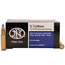 FN 5.7×28 5.7 SS197 Polymer Tip – 50 Round Box