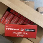 Federal AE380AP American Eagle 380 ACP 95 GR FMJ 50 Rounds