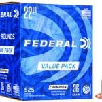 Federal 745 Champion Training 22LR 36 GR HP 525 Rounds