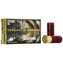 Federal® Premium Vital-Shok TruBall Rifled Slug 12 Gauge, 1 oz. Rifled Slug, 2-3/4″
