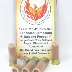 12 Gauge 2 3/4″ Rock Salt Pepper Blast Shotgun Ammunition