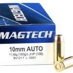 Magtech 10mm Auto 180 Grain JHP – 50 Rounds