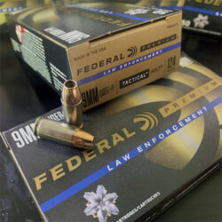 Federal HST 9mm +P LE Ammo – 124gr P9HST3