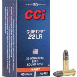 CCI Quiet 22 LR Ammo – 40 gr Model 960