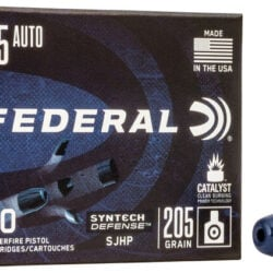 Federal S45SJT1 Syntech Defense 45ACP 205 GR SJHP