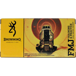 Browning Training & Practice 9mm 115 Grain FMJ